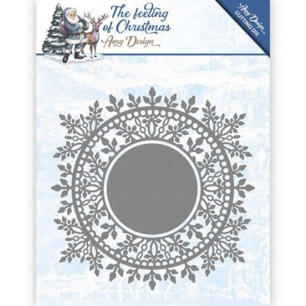 ADD10110 L ~ The Feeling of Christmas ~ Ice Crystal Circle ~ Amy Design